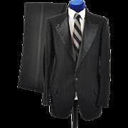 Vintage 1920s-30s  Mens 2 pc Tuxedo 38-40 L