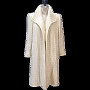 SALE Vintage 1980s Christian Dior Boutique Cashmere and Silk coat