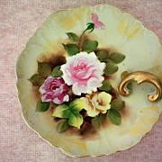 SALE German Porcelain Lemon Dish or Nappy