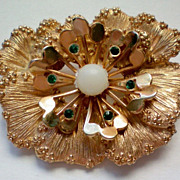 SALE Sarah Coventry Flower Brooch