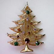 SALE Christmas / Holiday Tree by BROOKS ~ Harp Tree, Signed