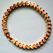 SALE CZ Tennis Bracelet Size 7.5