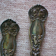 SALE Wm Rogers Orange Blossom set of 4 Teaspoons