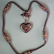 SALE Brighton Heart Necklace