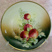 SALE Hand Painted Three Crown China Plate from Germany