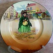 SALE Royal Doulton Sairey Gamp Character Plate