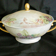 SALE Bavaria Germany Tirschenreuth Covered Tureen or Bowl
