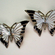 SALE Enamel Butterfly Scatter Pins