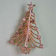 SOLD Christmas / Holiday Tree by Tangier - Red Tag Sale Item