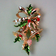 SALE Holiday / Christmas Bells Pin by Gerry's