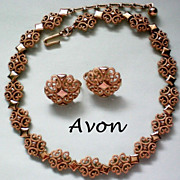 "SALE Avon Designer ""Precious Pretenders"" Necklace & Earrings"