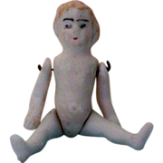 SALE 2½ Inch Bisque Doll with Movable Arms & Legs