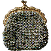 SOLD Rhinestone Studded Jacobson's Coin Purse from Austria