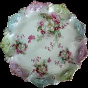 SALE M Z Moritz Zkekauer Austrian Scalloped Edge Cake Plate