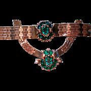 SALE Alfred Philippe Trifari Book Piece Necklace & Bracelet