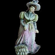 SALE Lefton Hand Painted Bisque Porcelain Figurine