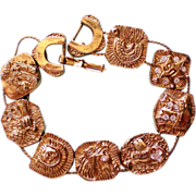SALE Cowboy / Cowgirl Metal Slider Bracelet