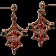 SALE Pierced Christmas Earrings for the Holidays