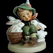 "SALE Hummel Boy ""Playmates"" Figurine"