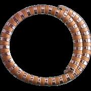 SALE Avon Egyptian Style Two tone Snake Necklace
