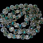 SALE Kenneth Cole Blue Swarovski Crystal Necklace