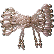 SALE Large Faux Pearl Hair Ornament