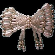 SALE Large Faux Pearl Hair Ornament