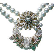 SALE Robert's Themed Faux Pearl Necklace