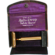 SALE Valet Auto Strop Safety Razor in Original Box