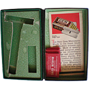 SALE New GEM Micromatic Razor Box with Original Inserts