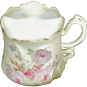 SALE Mustache Cup Hand Painted Nippon