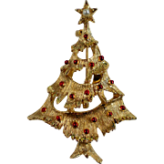 SALE Christmas Tree Holiday Pin by Gerry's