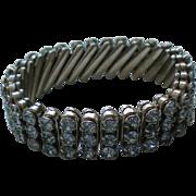 REDUCED Sparkling Blue Rhinestone Expansion Bracelet