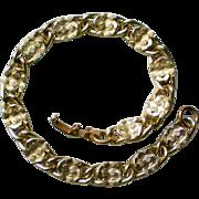 REDUCED Sarah Coventry Gold tone Link Bracelet