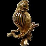Signed ROMA Bird Pin