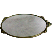 Vanity Mirror with Gold tone Roses