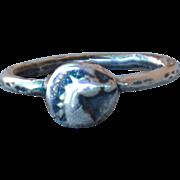 Handmade .999 Fine Silver Horse Ring