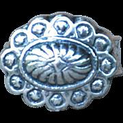 Handmade .999 Fine Silver Western Style Ring