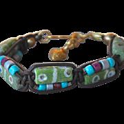SALE African Krobo Beaded Bracelet