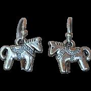 Two Little Horses Earrings