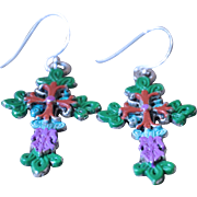 Chimayo Fancy Cross Earrings