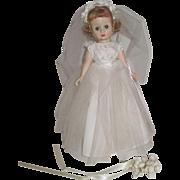 SALE Madame Alexander Cissette Bride Doll #980 - 1957