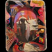 Enesco BARBIE Nicole Miller Decovase Picture Frame - 1995
