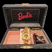 Fossil Charming Barbie Watch MIB COA w Tags - 1994