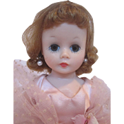Madame Alexander Tosca Cissette #732 Pink Satin Gown - 1959