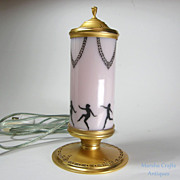 DeVilbiss Perfume Lamp 1924 -27 Dancing Nudes
