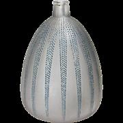 Rene Lalique Mimosa Vase 1924