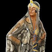 SALE Large Austrian Goldscheider Lorenzl Art Deco Harem Dancer Porcelain