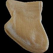 Woven Doll Socks Off White