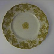 Upper Hanley Pottery Co. Dinner Plate Victoria Pattern